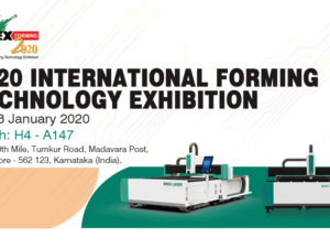 Exhibition invitation | 2020 India Bangalore Machine Tool Forming Technology and Tools Exhibition