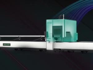 Real zero Tailing | Three-chuck tube fiber laser cutting machine launch!