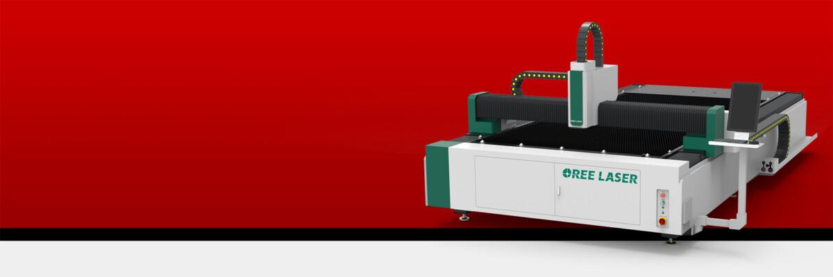 Advertising dedicated fiber laser cutting machine RBOR-FMA