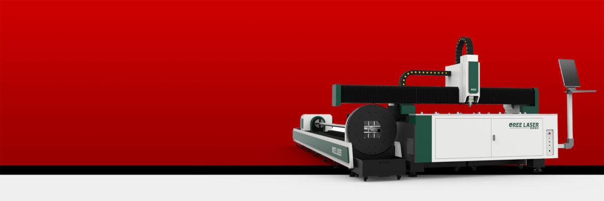 Dual-use Sheet & Tube Fiber Laser Cutting Machine RBOR-FHT