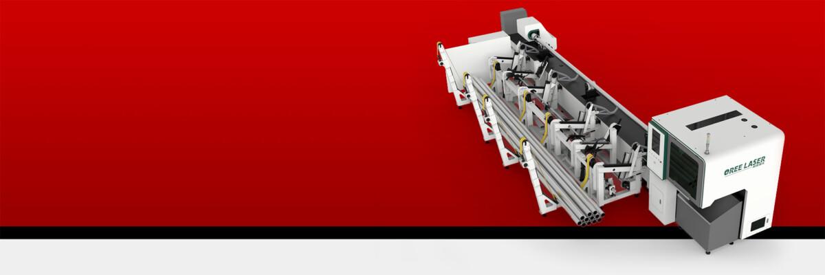 Automatic feeding laser pipe cutting machine RBOR-TN